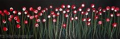 Kids Artists: Wild flowers - just like the daisy project. use black construction paper, colored pencils, tempera paint, and q-tips. i like the size of this project too. Spring Art, Spring Crafts, Artists For Kids, Art For Kids, Flower Crafts, Flower Art, Remembrance Day Art, Collaborative Art, Chalk Pastels