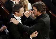 Jeremy Lee, Christian Bale/クリスチャン・ベール&ジェレミーレナー「アメハス」コンビが再会 #Oscars