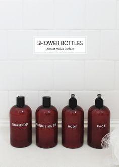Shower Bottles!