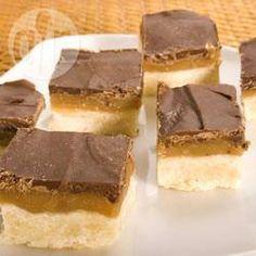 Chocolate Caramel Shortbread @ allrecipes.co.uk