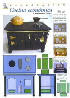 wood stove a bit like my Grandma had | Source: Jose Cazcarro