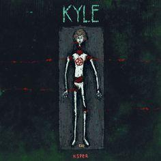 Ilustración animada de Kyle Spencer, de American Horror Story, Coven.