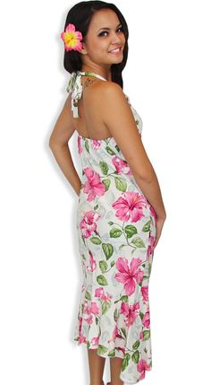 938ca9d5f84 Beach Mid Length Dress - Pi la Hooka ni   Hawaiian Wedding Place Store