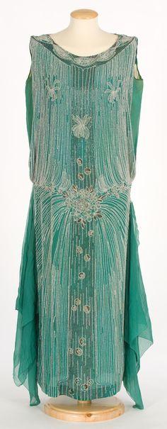 silk, flapper dresses, dress 1920s, 1920s fashion, green, dress earli, 1920s imatex, floral dresses, vintage style