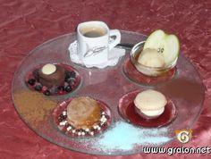 Café gourmand, mini desserts