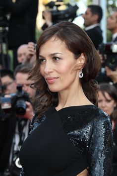 Dolores Chaplin on the 65th Cannes Film Festival red carpet wearing Chopard Saturday 19th May 2012