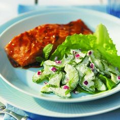 ... mint lime dressing refreshing cucumber salad with creamy mint dressing