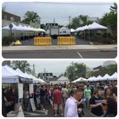 From set-up to in action! Brandywine Valley Craft Brewers Festival in Media, PA