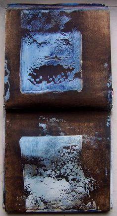 I'm searching III, carnet de travail by Élisabeth Couloigner #sketchbook
