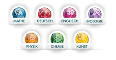Schulfächer bei scoyo:: membership site, learning subjects- curriculum- (in German) from 1st-4th grades.