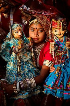 Puppeteer Girl in India
