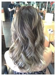 Image result for dark brown with ash blonde ombre