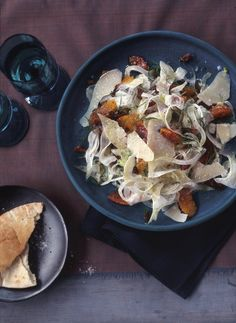 Fennel Salad with Blood Oranges and Parmesan