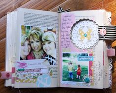 Auntie REcREates: What an awesome way to repurpose a book!