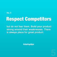 Start-Up Tips no. 5