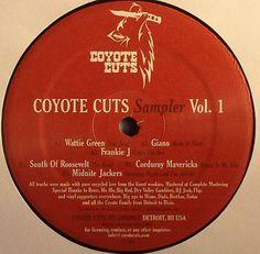 Coyote Cuts Sampler Vol.1 (Coyote Cuts) 2011 // Funky/Jackin House