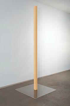 Gianni Piacentino, Pink-Yellow Pole III, 1967