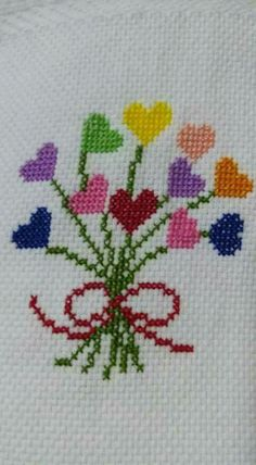 Brilliant Cross Stitch Embroidery Tips Ideas. Mesmerizing Cross Stitch Embroidery Tips Ideas. Cross Stitch Heart, Cross Stitch Cards, Simple Cross Stitch, Cross Stitch Borders, Cross Stitch Flowers, Cross Stitching, Cross Stitch Embroidery, Embroidery Patterns, Funny Cross Stitch Patterns