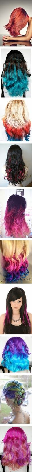 Colorful Hair Style