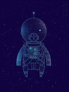 The Traveler by Richard Perez   Space   Pinterest
