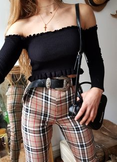 STUNNING PANTS BURBERRY STYLE  // limited edition