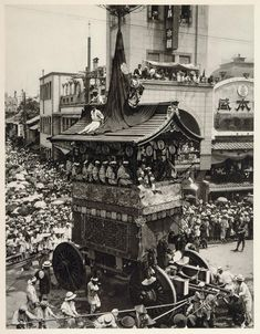 Festival of the Temple of Gion, Kyoto, Japan, 1930