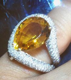 #topaz #drop #ring by @angeloxdexluca 💍