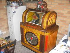 RARE 1947 Packard PLA Mor Manhattan Jukebox Works Well Juke Box Arcade Machine | eBay