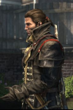 Assassin's Creed is one of the modern games spending time designing cool outfits for male characters, not just adding spikes and big weapons.