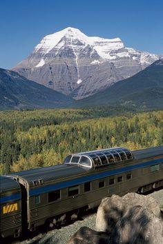 DE TREM, CANADÁ ADQUIRE (REAL) GRANDIOSIDADE - Revista Travel 3