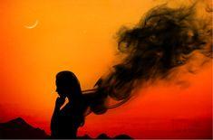 How to create Dark Smoke Effect using photoshop Dark Smoke, Cool Backgrounds, Photo Effects, Photoshop Tutorial, Silhouette, Sky, Create, Instagram, Heaven