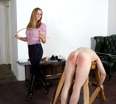 Caught Naked and Spanked