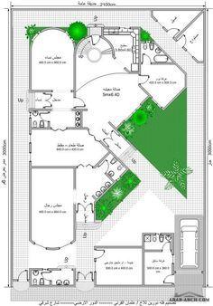 خرائط بيت المستقبل مخطط 2 فيلا دورين Home Design Floor Plans Beautiful House Plans Model House Plan