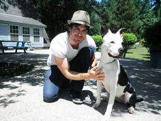 Ian Somerhalder. hot guy with a dog is the best sight ever <3