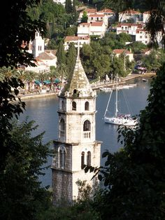Cavtat, Croatia -- a beautiful town! Cavtat Croatia, Dalmatia Croatia, Visit Croatia, Croatia Travel, Croatia Tourism, Vacation Places, Places To Travel, Places To See, Montenegro