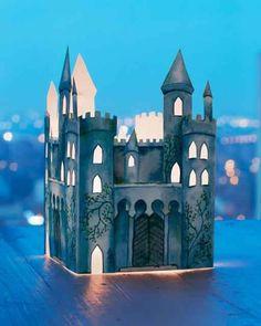 Create a glowing castle lantern to use as a nightlight.