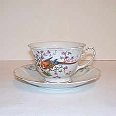 Rosenthal Parrot Tea Cup and Saucer. Click on the image for more information.