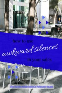 Are you afraid of those seemingly forever, awkward silences that happen when you're speaking with a potential client? That silence is actually very healthy and should be a part of your sales strategy. Well, meet your new BFF to help you close a sale!  #salestips #silenceisgolden #bodylanguage Loosing Someone, When Someone, You Talk Too Much, Just Thinking About You, Sales Skills, Sales Strategy, Learning To Trust, Sales Tips, Stop Talking