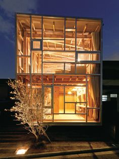 house of cedar in osaka, japan