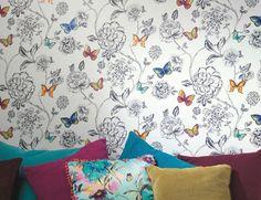 £34.48 Price per roll (per m2 £6.59), Novelty wallpaper, Carrier material: Non-woven wallpaper, Surface: Smooth, Look: Matt, Design: Flower…