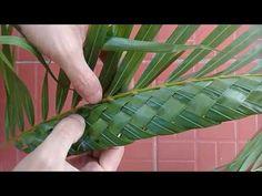 สอนทำช่อใบเตย(แบบใหม่) by สมร ใบเตยหอม - YouTube