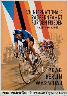 VI Internationale Radfernfahrt für den Frieden ~ Anonym #cycling