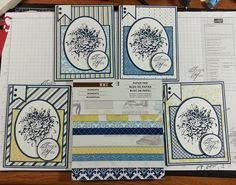 """airbornewife's stamping spot: more SSSC200 """"THANK YOU"""" cards"""
