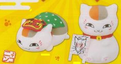 【Natsume Yuujinchou】Nyanko Sensei Omedeta Plushie 2type set  [Release Date]end of November-2012  URL: http://aikoudo.com/goods_en_11347.html
