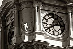 https://flic.kr/p/d2X3B3 | Clock-City Hall | Phila Pa