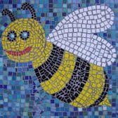 Roman Mosaic Patterns For Kids - Фото база Paper Mosaic, Mosaic Crafts, Mosaic Projects, Art Projects, Mosaics For Kids, Mosaic Artwork, Bee Art, Teaching Art, Community Art