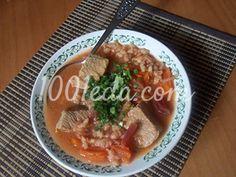 Густой перловый суп с мясом: рецепт с пошаговым фото