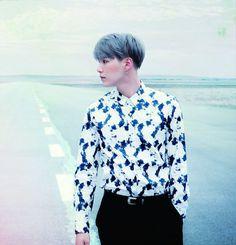 "SUGA | BTS x Japan 2nd Album ""YOUTH"" teaser photos"