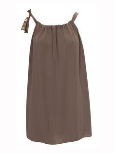 Vestido-remeron básico de algodón