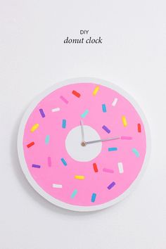 DIY Donut Clock | Why Don't You Make Me